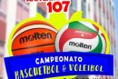 🏀🏐 Campeonato Basquetbol y Voleibol Aniversario 107 Etchegoyen