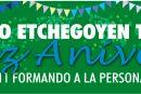 """Programa """"ANIVERSARIO 107 AÑOS"""" Colegio Etchegoyen."""