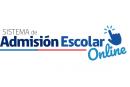 Sistema de Admisión Escolar 2019 (Online)