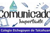 Comunicado Equipo Directivo