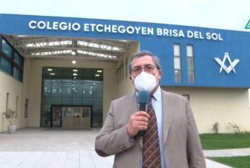 Bienvenida Estudiantes Colegio Etchegoyen Sede Brisa del Sol (Vídeo)